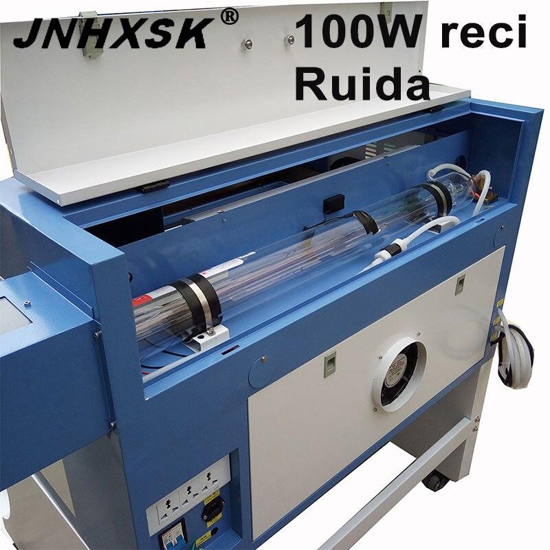 JNHXSK 100 Вт W2 Reci Co2 лазерный станок с ЧПУ 4060 лазерный гравировальный станок лазерная маркировочная машина мини лазерный гравер фрезерный стано...