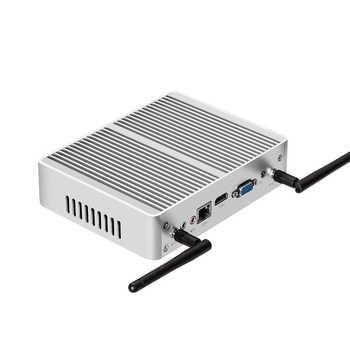 Intel Core i3 7100U i5 7200U i7 4500U Mini PC Windows 10 Nettop 4K HTPC Office Computer HDMI VGA 4x USB3.0 2x USB2.0 WiFi