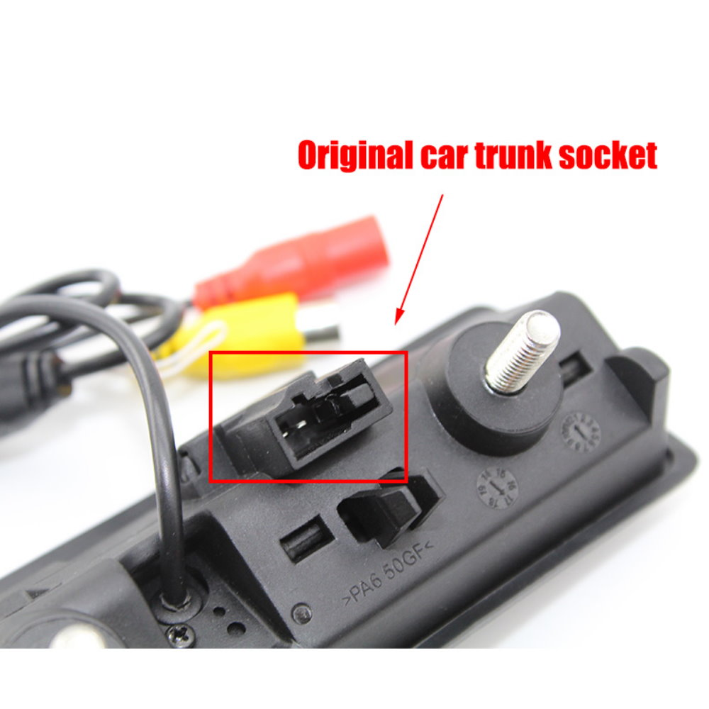 cheapest LEXXSON Parking Wireless Universal Car Rear View Camera with 8 LED Back Reverse Camera RCA Night Vision receiver  amp  transmitter