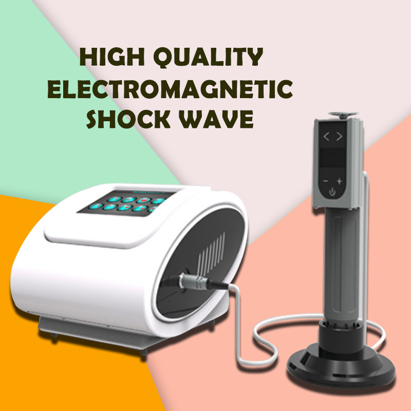 New 2019  Radial Shock Wave Therapy For EDPortable Aesthetic Relieve Joint Pain Shock Wave Equipment With Electronics/extracorpo