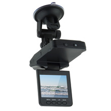 "New 2.5"" LCD HD Car DVR 6 leds Night vision Car Camera video Recorder detector dash cam hot selling"