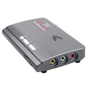 Image 5 - Kebidumei nova quente digital terrestre dvb t/t2 caixa de tv + controle remoto vga av cvbs sintonizador receptor hd 1080 p vga DVB T2 caixa de tv