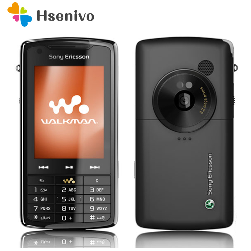 W960 100% Original Unlocked Sony Ericsson W960 W960i Mobile Phone 3G WIFI Bluetooth FM Unlocked Cell Phone Free Shipping