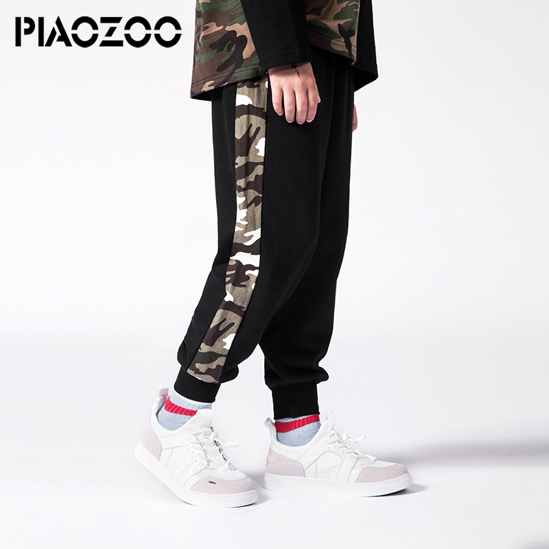 Spring autumn children's camo pants Cotton camouflage boys teenage clothing 4-14 Year teen kid joggers Pants school trausers P20
