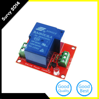 цена на 1 channel relay module relay expansion board SLA-05VDC-SL-A 1-way relay module