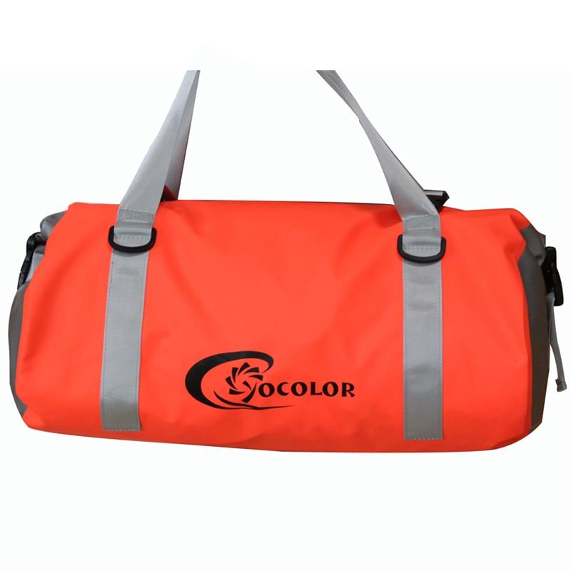 Waterproof Duffle Bag Travel PVC Dry Bags Outdoor Camping Boating Fishing Kayak Canoeing Rafting Luggage shure se215 k
