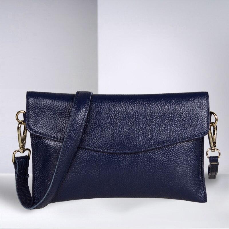 Nueva marca de fábrica Superior de moda de las mujeres bolsos de cuero Genuino b