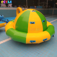 OCYLE free shipping inflatable water gyroscope toys for water park custom make inflatable spinning gladiator water toys for sale