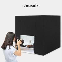 Photo Studio Tent Portable Photography Studio Professional LED Light Box Foldable LED Lightning Kit 80cm