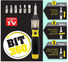 6 in 1 Screwdriver Bit