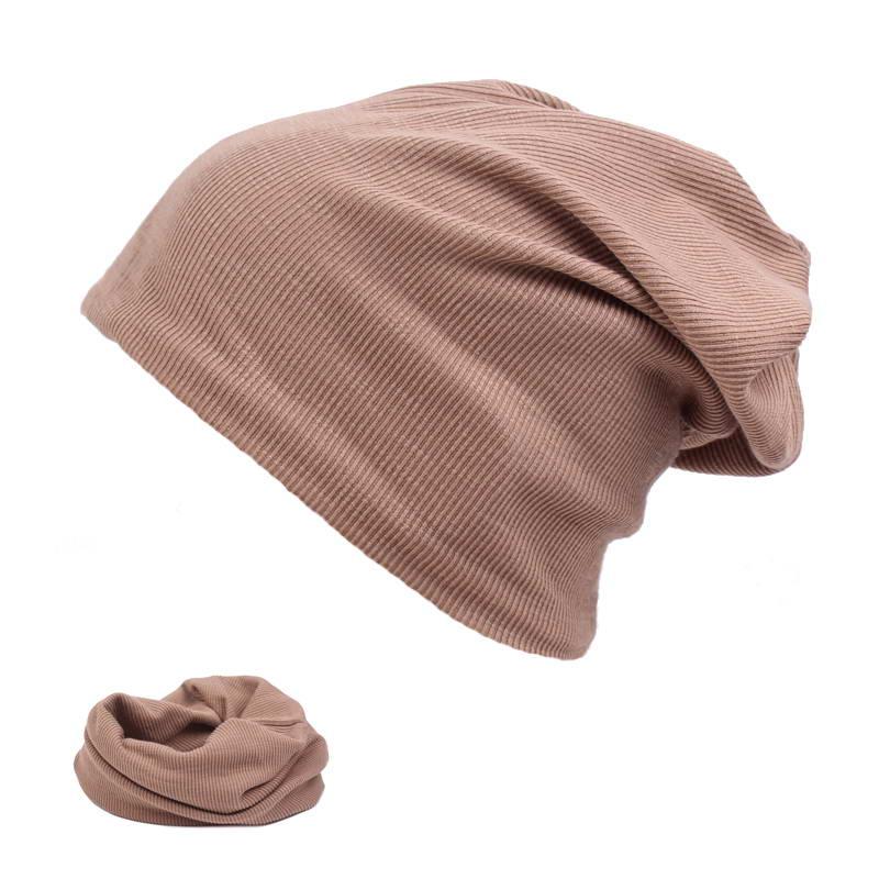 f4aedbc5f1420 Mens Baggy Beanie Slouchy Knit Skull Cap Thin Hiphop Running Beanies Hat