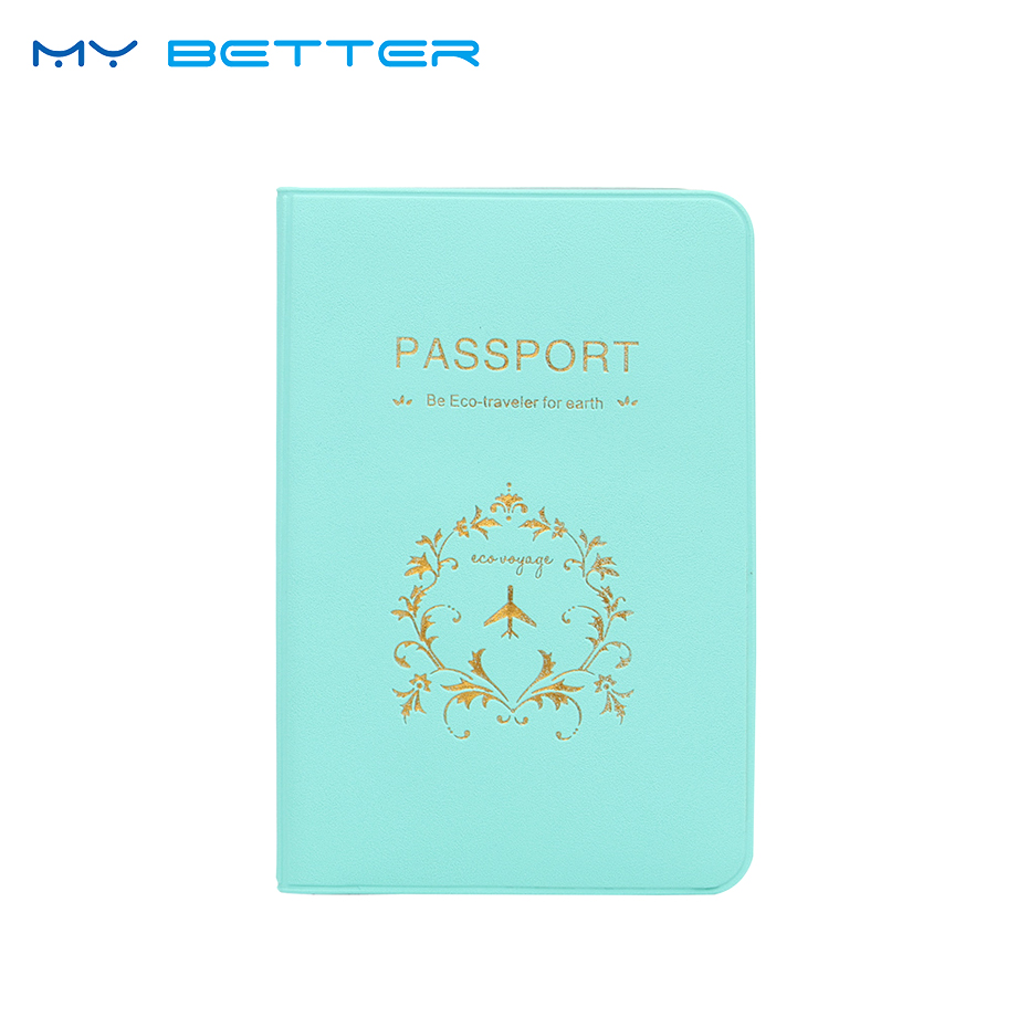 Fashion New Passport Holder Documents Bag PU Leather Card Holder Travel Passport ID Cover Card Case never leather badge holder business card holder neck lanyards for id cards waterproof antimagnetic card sets school supplies