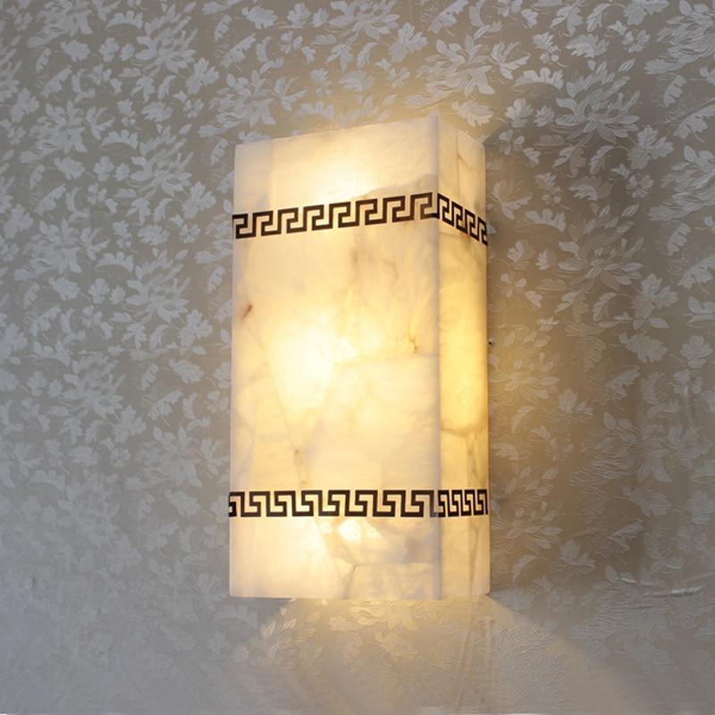 Achetez en gros stone wall lamp en ligne des grossistes for Eclairage mur en pierre interieur
