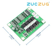 Upgrade 3S 25A BMS 11.1V 12.6V 18650 lithium battery protection Board with balanced