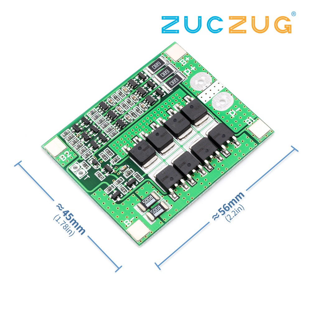 Upgrade <font><b>3S</b></font> 25A BMS 11.1V 12.6V 18650 lithium battery protection <font><b>Board</b></font> with balanced image