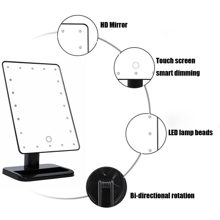 led mirror 6