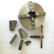 цена на K12-130 4 jaw chuck 130MM manual lathe chuck 4-Jaw Self-centering Chuck For welding positioner welding turn table