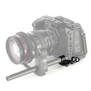 Image 4 - SmallRig 15mm Single Rod Clamp for Blackmagic Design Pocket Cinema Camera BMPCC 4K Cage SmallRig 2203/2255/2254   2279
