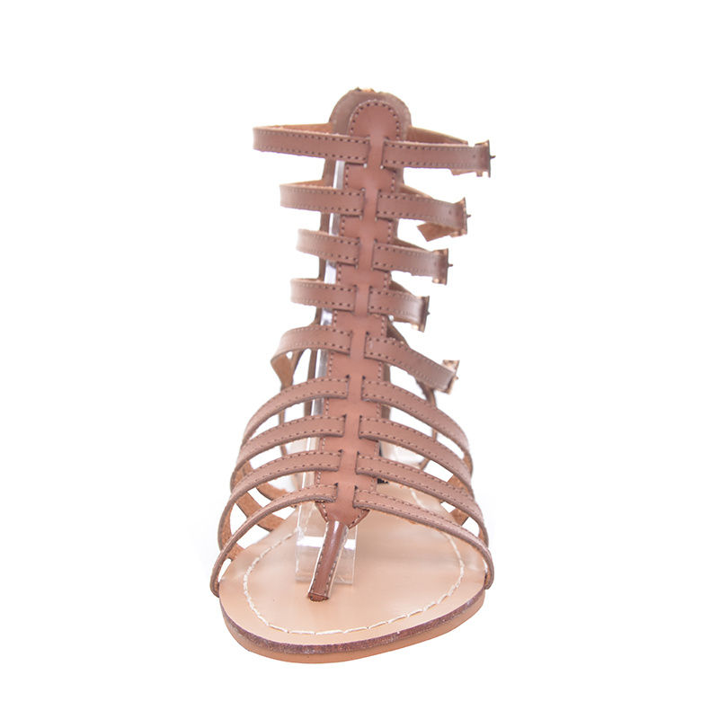 dec91e516 HEE GRAND England Style Women Shoes Roman Sandals Buckle Summer Flip Flops  Gladiator Flat With Sandals Plus Size 35 43 XWZ2029-in Women s Sandals from  Shoes ...