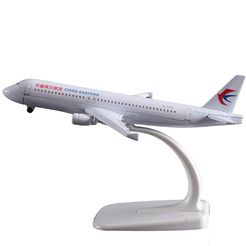 16cm A320 China Eastern Airline Aircraft Model Airbus Eastern Airway Airplane Static Model Metal Chinese Plane Model Souvenir