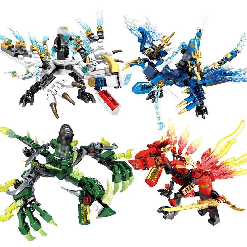 Ninjagoes Dragon Knight Building Blocks Figures Enlighten Toys For Children Friends Compatible Legoing Ninjagoes Kids Gift цена 2017