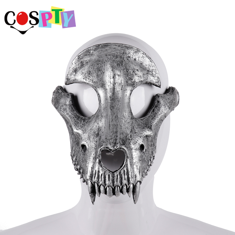 Image 3 - Cospty Mascaras Disfraces Festival Day of The Dead Halloween Party Masquerade Creepy Horror Terror Scary Costume Skull MaskBoys Costume Accessories   -