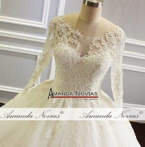 Image 2 - robe de mariee 2019 Puffy Ball Gown Princess Wedding Dress New Model