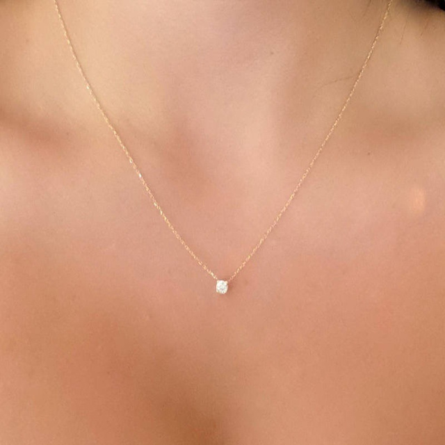 Simple choker Ladies necklace for women 2