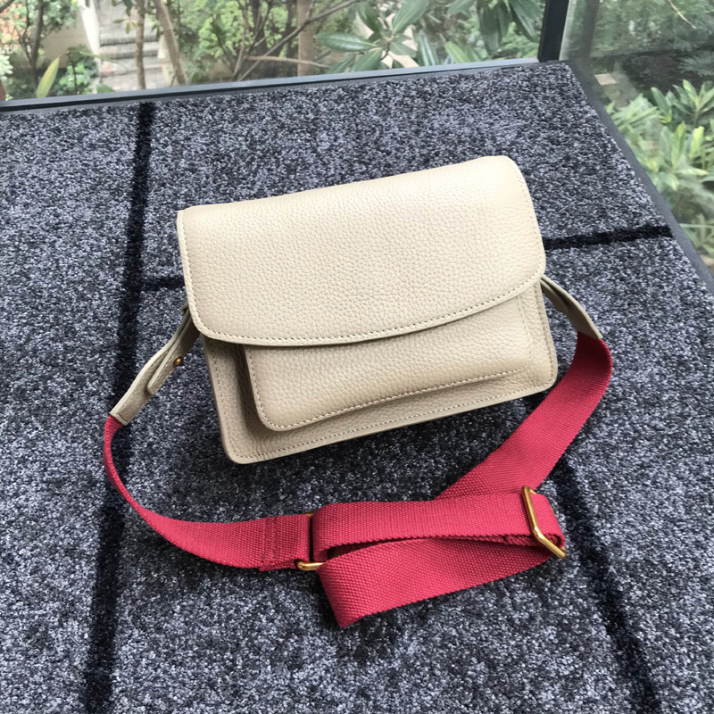 Blue Luxe Designer Sac Main Cuir Sacs brick black Body red Shouder En pink Cross De Ins coffee linen Red Matcha Véritable À Chaude Femmes Wine fcyfUF7