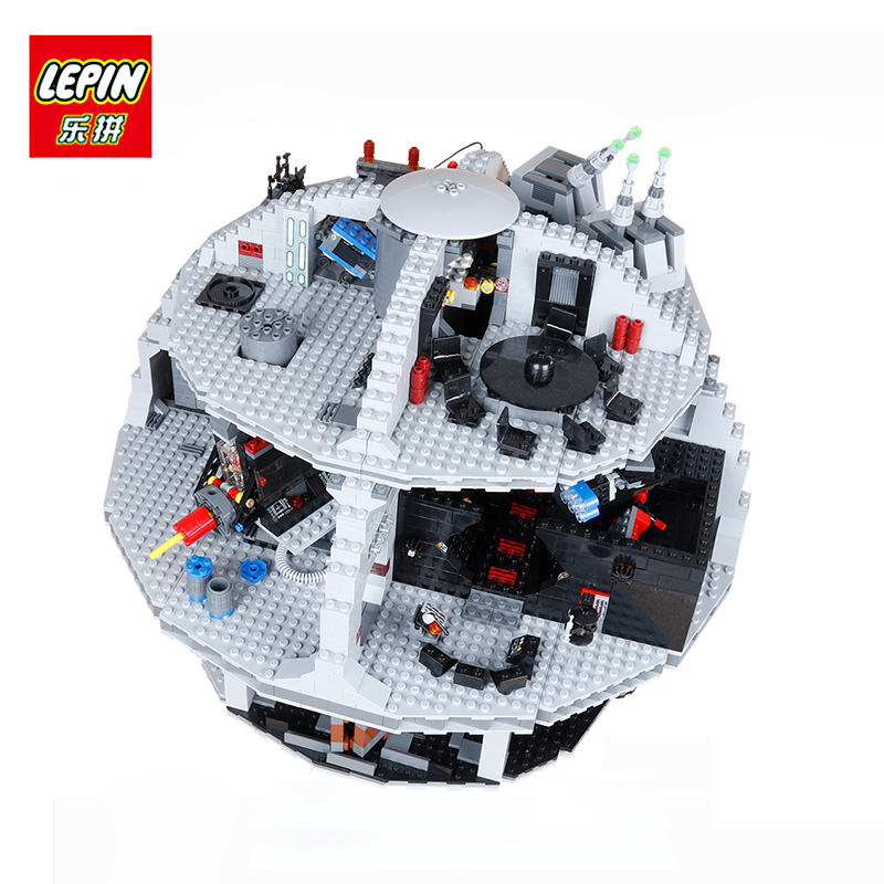 LEPIN 05063 4016Pcs Star Genuine New War Force Waken UCS Death Educational Model Building Blocks Bricks Toys for Children 75159 in stock lepin 05063 4116pcs 05035 3804pcs star force waken ucs death wars model building blocks bricks toys gifts 75159 10188