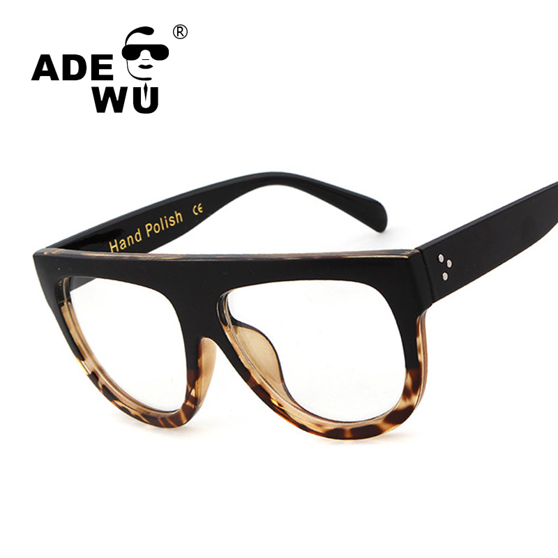 95e1a7e4295 ADE WU Luxury Women Sunglasses Kim Kardashian Sun Glasses Tom Brand Design  Fending UV400 Black Rivet