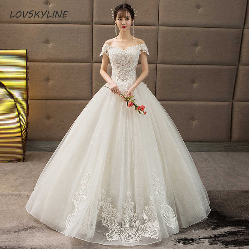 f8941363d Real Pictures Ball Gown Bridal Dress Vintage Muslim Plus Sizes Lace Wedding  Dress Princess with Sleeve