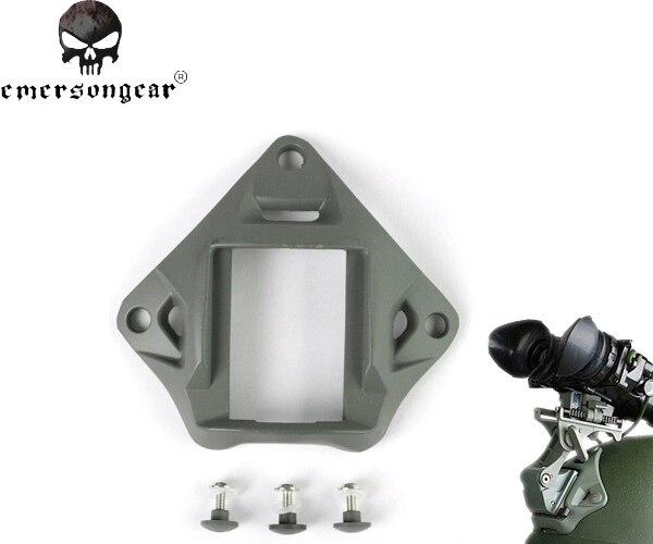 Prix pour Emersongear Lumière Poids Nuit Vision ACH PASGT Casque Mount Base Militaire En Aluminium Casque Mont Accessoires EM3284 #