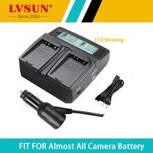 LVSUN BP-727 BP 727 718 Cargador de Batería de La Cámara para Canon BP-718 VIXIA HF M50 M52 M500 R30 R300 R32 R40 R42 R5 R50 R52 R400 R500