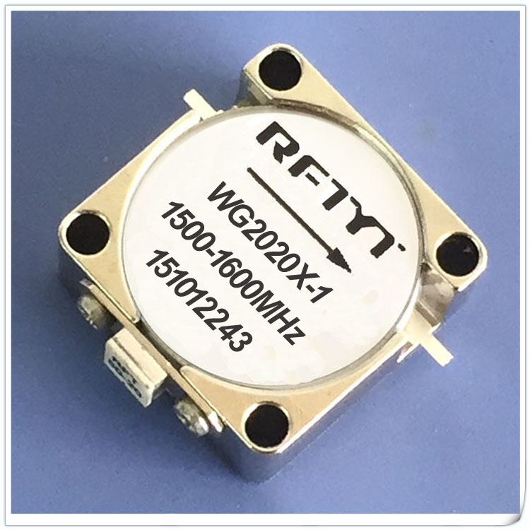 1500-1600MHz Embedded Isolator WG2020X-1 RF Isolator Circulator