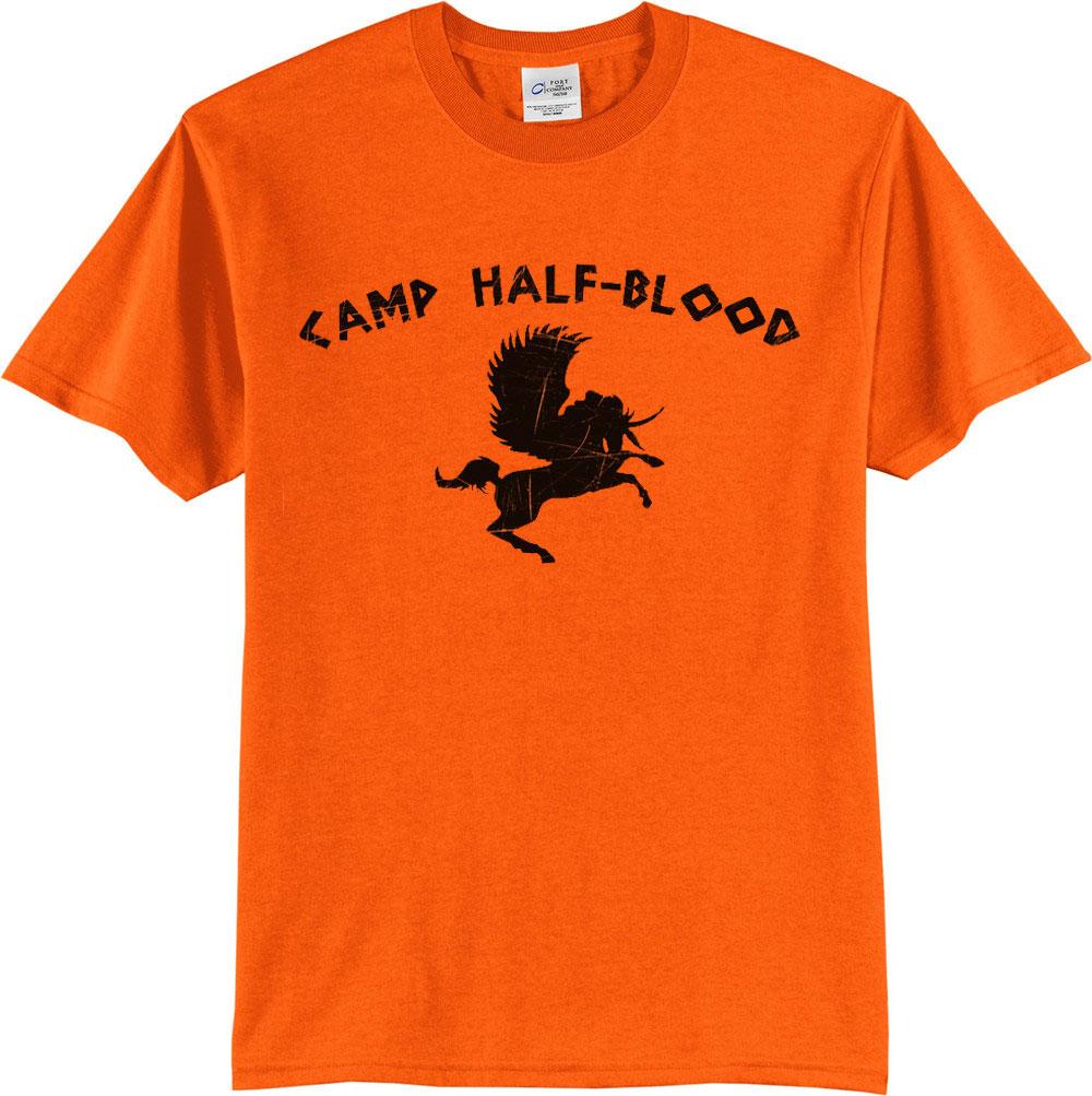 Camp Half Blood Tee Shirt Tshirt Top Unisex  Mens Womens Unisex