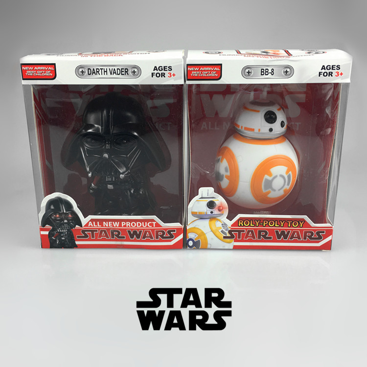 Star Wars BB8 Darth Vader Action Figure toys The Force Awakens Droid Robot BB-8 with light and sound lovely 7