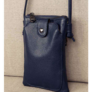 Image 2 - 2020 New Arrival Women Shoulder Bag Genuine Leather Softness Small Crossbody Bags For Woman Messenger Bags Mini Clutch Bag