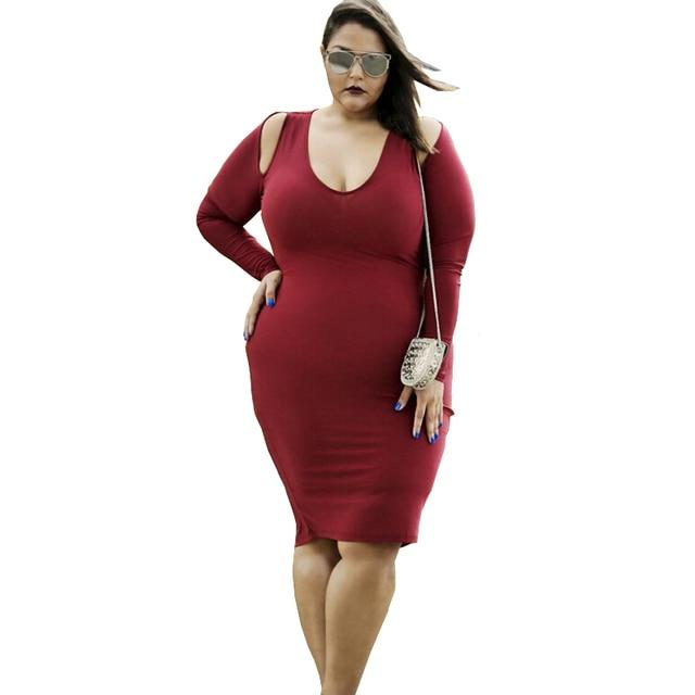 Fashionable Women Dresses Large Sizes Bare Shoulder Long -4310