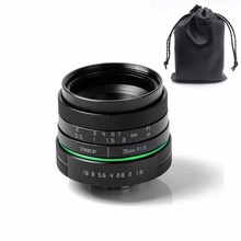 New green circle 35mm APS-C CCTV camera lens for  sony NEX canon E0SM N1 PQ Panasonic Lumix micro camera +gift  free shipping