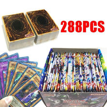 288Pcs English Version Yugioh Cards Box Packing for Yugioh Collection Cards for Anime Fans(China)
