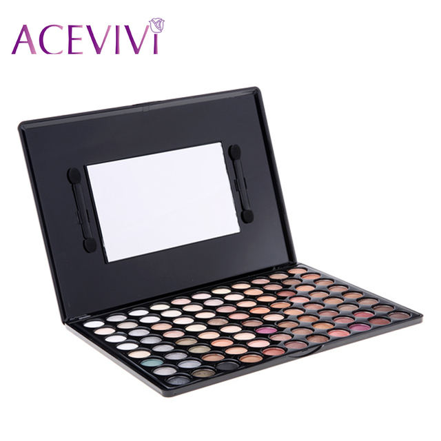 ACEVIVI 2016 New Fashion professional 88 Colors makeup Eyeshadow Matte Shimmer Palette Eyeshadow Palette ^y