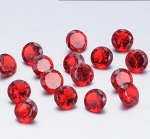 Hot Selling 5mm Round Red Color Birthstone Floating Charm For Memory Lockets Beautiful Gift July