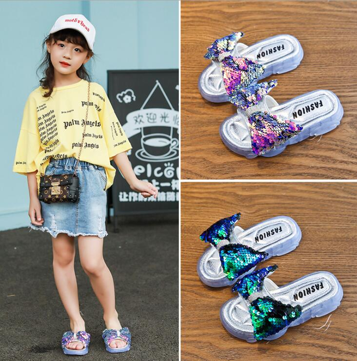 Summer Kids Bow Beach Sandals Cute Sandals Princess Girls Shoes Slippers Anti-skid Flip Flops Fashion Girls SwimmingSummer Kids Bow Beach Sandals Cute Sandals Princess Girls Shoes Slippers Anti-skid Flip Flops Fashion Girls Swimming