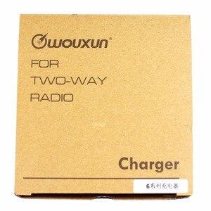 Image 4 - שולחן העבודה AC סוללה מטען 100 V 240 V עבור Wouxun R KG UV6D KG UVD1P