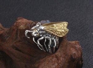 Image 2 - Echte 925 Zilveren Bee Hanger Ketting 925 Sterling Busy Bee Hanger Ketting Vintage Bohemen Ketting