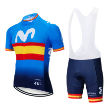 2019 TEAM Colorful M Cycling jersey 12D gel bike shorts sets mens Ropa Ciclismo Maillot Culotte biycling top bottoms suit(China)