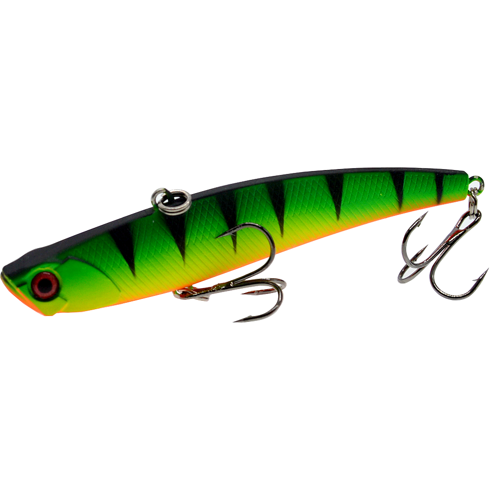 Image 5 - Sinking Vibration Fishing Lure 26g 95mm Hard Plastic Artificial VIB Winter Ice Fishing Pike Bait Tackle Isca Peche-in Fishing Lures from Sports & Entertainment