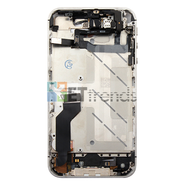 Metal Middle Plate Assembly for iPhone 4S - White  (5).jpg