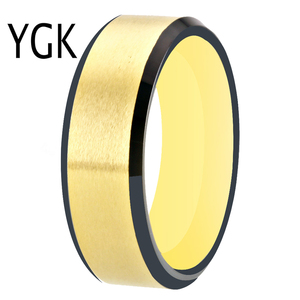 Image 5 - 100% Tungsten Carbide Ring for Men and Women Classic Wedding Engagement Ring Free Engraving Anniversary Jewelry Matte Finished